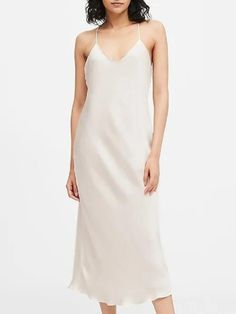 How many dresses you have in your closet? Now, look at them. Satin Slip, Satin Fabric, Ribbed Sweater, Turtleneck, Dress Cuts, Petite Dresses, Everyday Fashion, Sheath Dress, Dress Outfits
