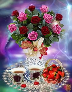 Good Morning Roses, Good Morning Coffee, Good Morning Gif, Good Morning Messages, Good Morning Greetings, Good Afternoon, Beautiful Night Images, New Good Night Images, Beautiful Rose Flowers