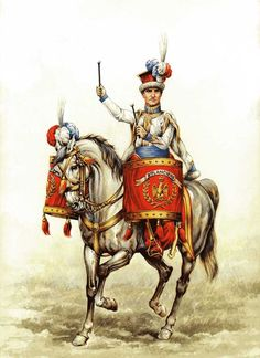 P. Conrad - Kettle Drummer of Red Lancers of Imperial Guard