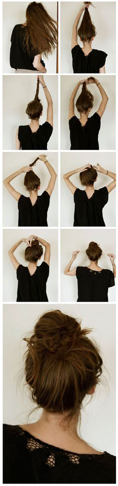 Joanna Goddard - how-to-messy-french-bun  from http-//joannagoddard.blogspot.com/2009/11/messy-french-bun.html