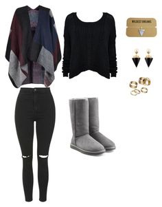 """""""It is cold outside"""" by isabelle108 ❤ liked on Polyvore featuring UGG Australia, Topshop, Vita Fede and Apt. 9"""