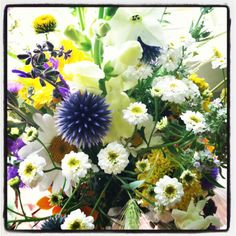 mixed august bouquet - White Antler Flowers