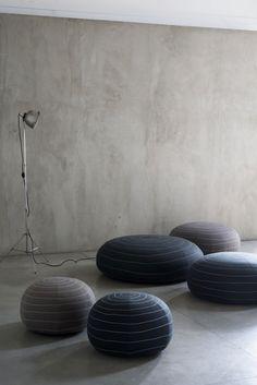 Spin poufs for Tacchini by Claesson Koivisto Rune