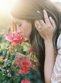 summer fragrance, scent, perfume ideas and inspiration for Karen Gilbert Girls With Flowers, Love Flowers, Rose Photography, Portrait Photography, Learn Photography, Woman Photography, Senior Photography, Smelling Flowers, Foto Pose