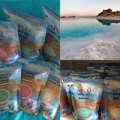 100 % Salt & 100 % Effekt til fødder og krop - få en smuk glød og en vidunderlig blød hud efter fodbad eller karbad med salt fra Dead Sea Care