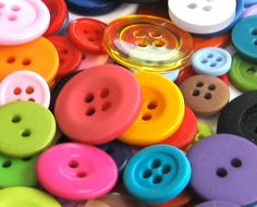 Buttons  100 Assorted Fun Mix by DestinyPhoebe on Etsy, $3.95