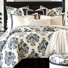 Eastern Accents Evelyn Polyester Comforter Size: California King, Finish Type: Hand-Tacked