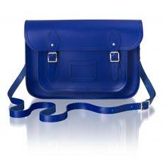 Emerald & Sapphire | The Cambridge Satchel Company. I NEED this bag.