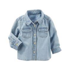 Baby+Girl+OshKosh+B'gosh+Denim+Shirt