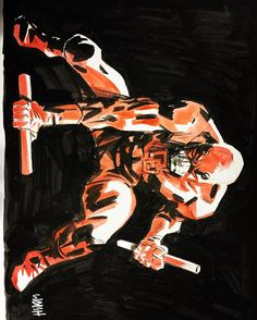 Awesome Art Picks: Daredevil, Harley Quinn, Spider-Gwen, and More - Comic Vine Comic Book Artists, Comic Artist, Comic Books Art, Daredevil Matt Murdock, Daredevil Elektra, The Devil Inside, Comic Reviews, Spider Gwen, Calvin And Hobbes
