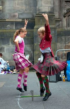 """""""highland dance festivals, a great way to meet the locals"""" (Rick Steves)"""