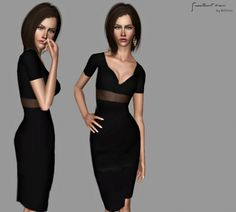 Sweetheart dress by Bill - Sims 3 Downloads CC Caboodle