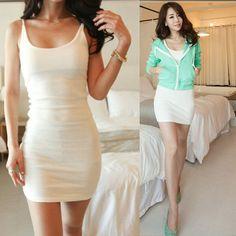 [ $18.00 ] Sexy Bodycon Solid color Dress