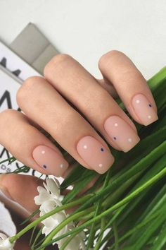 cool simple nail designs new nails design pictures cute nail art designs for beginners nail polish d Color For Nails, Love Nails, Pretty Nails, Nail Colors, Minimalist Nails, Cute Acrylic Nails, Glue On Nails, Simple Nail Art Designs, Easy Nail Art