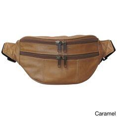 Elegant   Classic Crossbody Belt bag in Soft Lamb Brown Skin. Ideal for the  City 960342810e476