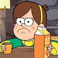 Cartoon Icons, Cartoon Memes, Cartoons, Disney Wallpaper, Iphone Wallpaper, Desenhos Gravity Falls, Disney Icons, Mabel Pines, Cartoon Profile Pictures