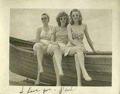 Pretty maids all in a row, c. 1940s