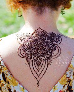 Mandala Henna Tattoo #MehendiMandalaArt @MehendiMandala