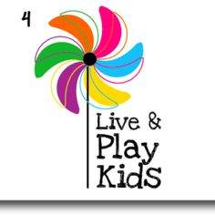Live & Play Kids logo, Margarita Castañeda Design!