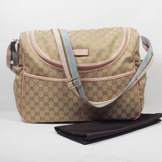 Gucci Diaper Bag Adorable but Prada baby bag is more worth the investment as it can be used for many years after baby and for traveling etc.