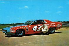 "Richard Petty, 1972 Plymouth Roadrunner, STP ""Gimme Card"" | by Wallyum"