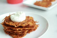 Chipotle Cheddar Potato Latkes