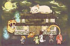 化け猫の集い