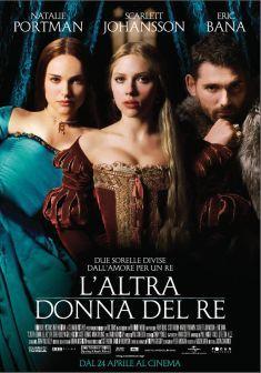 L'altra donna del re - Film (2008) Tratto dal best seller di Philippa Gregory, L'ALTRA DONNA DEL RE è un'avvincente e sensuale storia d'amore, di intrighi, e tradimenti, sullo sfondo di un momento storico particolarmente delicato e di grandi trasformazioni. Due sorelle, Anna (Natalie Portman) e Maria (Scarlett Johansson) Bolena, vengono spinte dalla sfrenata ambizione del padre e dello zio a conquistare l'affetto del Re d'Inghilterra Enrico VIII (Eric Bana)...