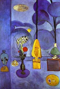 The Blue Window - Henri Matisse