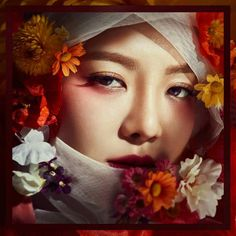 SNSD HyoYeon is a beautiful 'Red Flower' for Creative Book ~ Wonderful Generation ~ All About SNSD, Wonder Girls, and f(x) Kim Hyoyeon, Sooyoung, South Korean Girls, Korean Girl Groups, Girls Generation Hyoyeon, Kwon Yuri, Sistar, Girl Day, Snsd