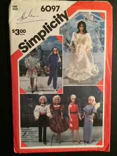 Hey, I found this really awesome Etsy listing at https://www.etsy.com/listing/486871241/simplicity-crafts-sewing-80s-pattern