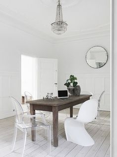 dining room - vintage - eclectic
