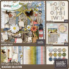Beachside Collection :: Gotta Pixel Digital Scrapbook Store by Aimee Harrison