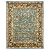 Found it at Wayfair - Heritage Blue & Brown Area Rug
