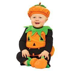 Infant/Toddler Pumpkin Vest Costume