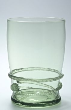 Serpent vase. Designed by Harry Powell C1920. Inspired by the paintings by Hubert van Ravesteyn and Claes Berchem Rijksmuseum Amsterdam.  Designed by