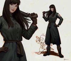 DragonBall Fanart - Mai by Roanna Peroz Dbz, Dragon Ball Z, Trunks And Mai, Sci Fi Characters, Concept Art, Pin Up, Fan Art, Manga, Anime