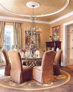 Southern Living Dining Room by Michael Steiner, ASID, LEED Green Associate