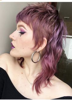 Mullet Haircut, Mullet Hairstyle, Messy Hairstyles, Pretty Hairstyles, Hair Inspo, Hair Inspiration, Mundo Hippie, Edgy Hair, Punky Hair