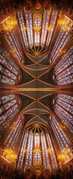 The Ceiling of the Saint Chapelle, Paris | Trey Ratcliff