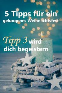 Mach euer Weihnachtsfest zu einem unvergesslichen Tag. Mit den 5 Tipps von Carmen aus dem Garten Online Team wird euch das leicht gemacht. Tipp 3 wird euch begeistern :) Lest auf jeden Fall unseren Blogbeitrag mit den Tipps.