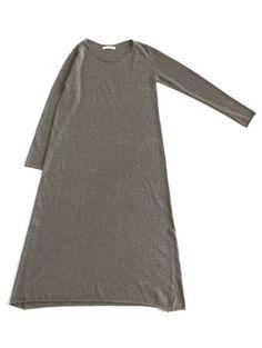 evam eva grey dress