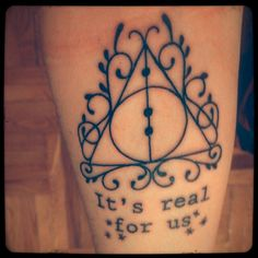 get a Harry Potter inspired tattoo