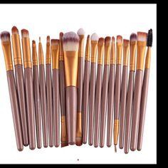 New 20ps makeup brushes set Hot Sale! Professional 20Pcs Makeup Brush Sets Tools Cosmetic Brush Foundation Eyeshadow Eyeliner Lip Brush Make Makeup Blush