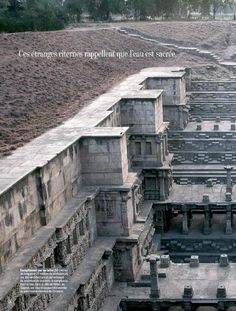 Sacred water temples in India #ClippedOnIssuu from Marie claire maison n474 2014 www.ebooks-land.ws
