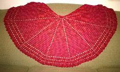 Ravelry: Sort of Half Circle Shawl pattern by PurpleIguana really love this