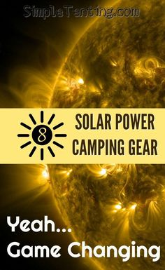 Everyone needs this gear. Solar powered string lights, charging blocks, and even solar powered generators. Camping Gadgets, Camping Tools, Camping Supplies, Camping Stove, Camping Equipment, Camping Hacks, Camping Gear, Outdoor Camping, Camping Products