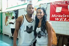 Ayanah Cornish-Lowry and Kyle Lowry