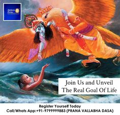 .Is there life after death? .Why do good things happen to bad people and bad things happen to good people? .Why did God created this world? Why did he created me? Call/Whats App:+91-9799999883 (PRANA VALLABHA DASA) Join us for this session and understand the real goal of life. SUNDAY, 9 APRIL 2017 TIME: 11:00 AM - 1:00 PM Venue: Hotel, Khasa Kothi,Near Country Inn, MI Road, Jaipur
