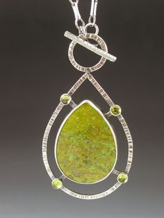 Large+Sterling+Silver+Peridot+and+by+MicheleGradyDesigns+on+Etsy,+$380.00